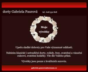Takhle vypadal původní web na adrese DortyGP.cz