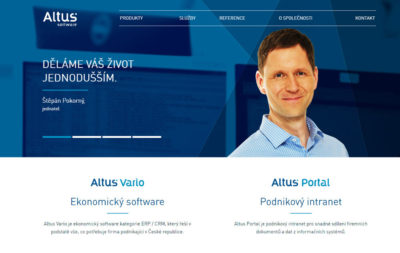Pro Altus Software jsem vedl multikanálové online reklamní kampaně