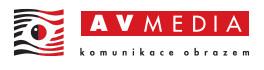 Logo firmy AV Media