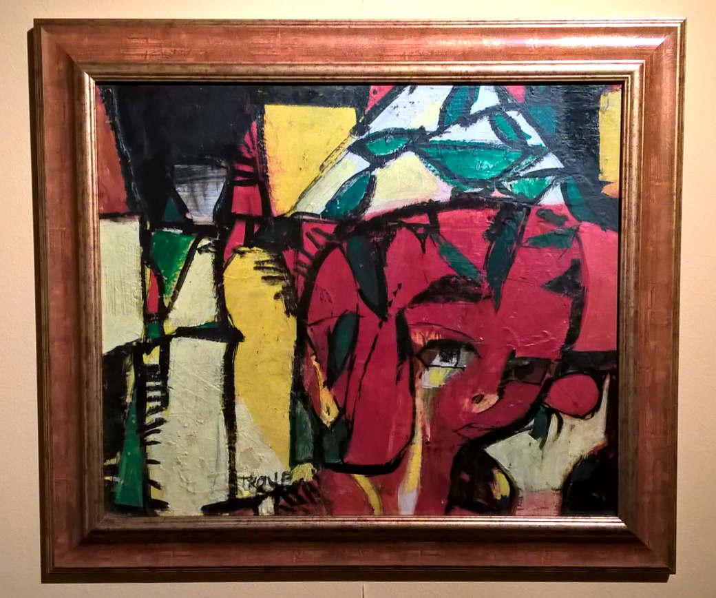 Obraz Poznání (výstava Miloslav Troup: Paříž, Paříž)