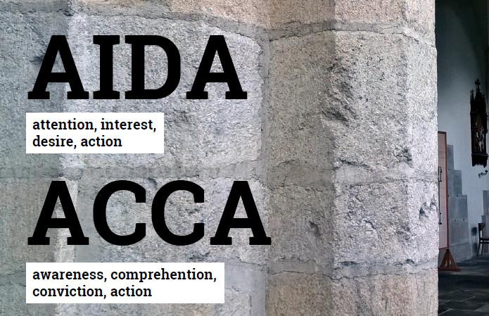 Zásady modelů AIDA a ACCA by se podle mého názoru měly tesat do kamene.