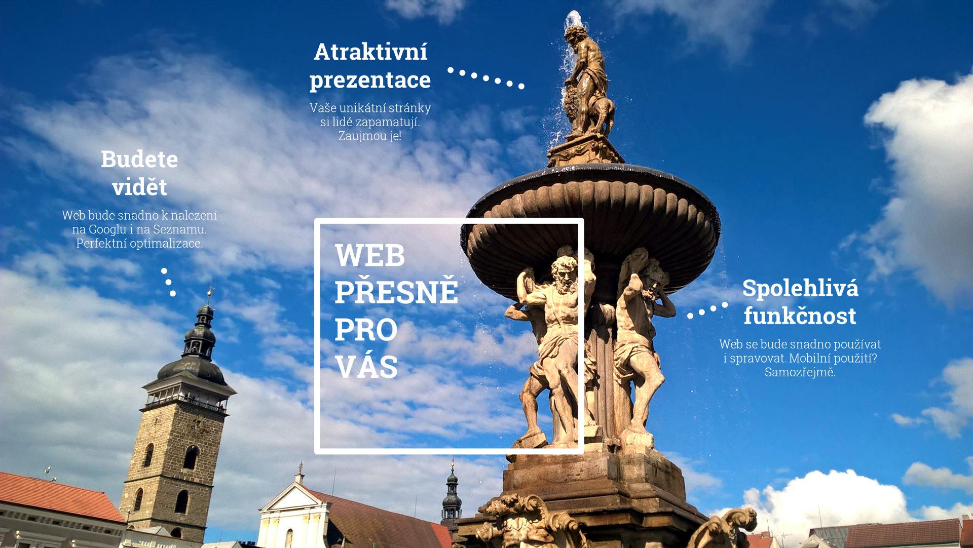 Tvorba webových stránek České Budějovice