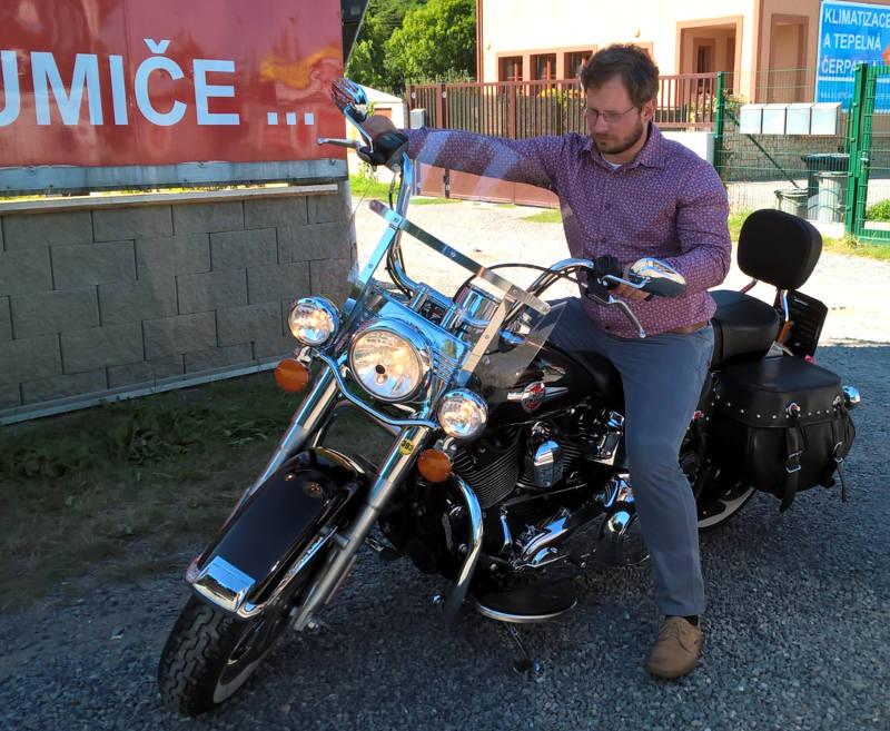 Motocykly Harley Davidson jsou legenda.