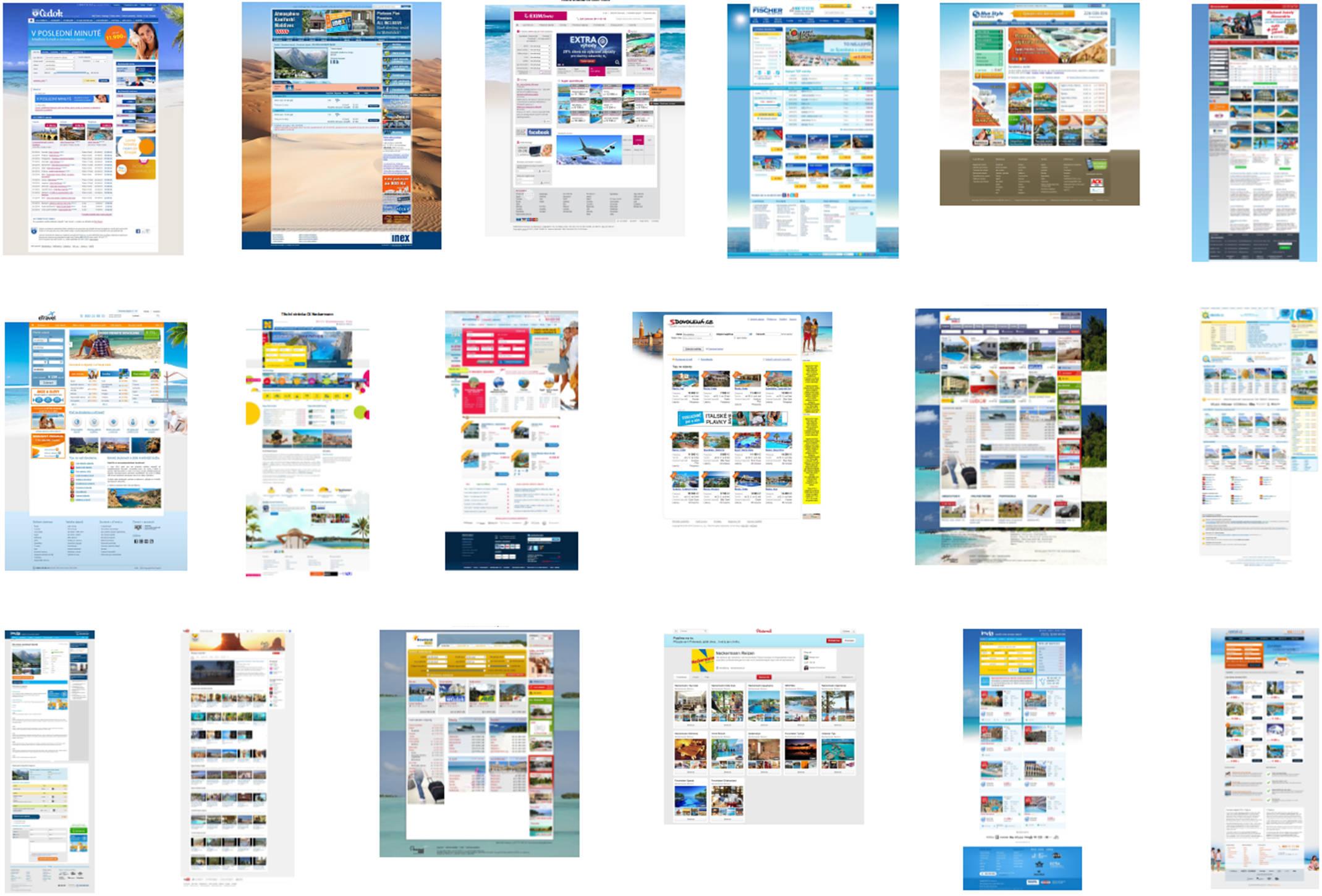 Analýza konkurenčních webů ukáže, jaký je na trhu stav. Vědět, co dělají ostatní, je velmi důležité. Inspirujte se!
