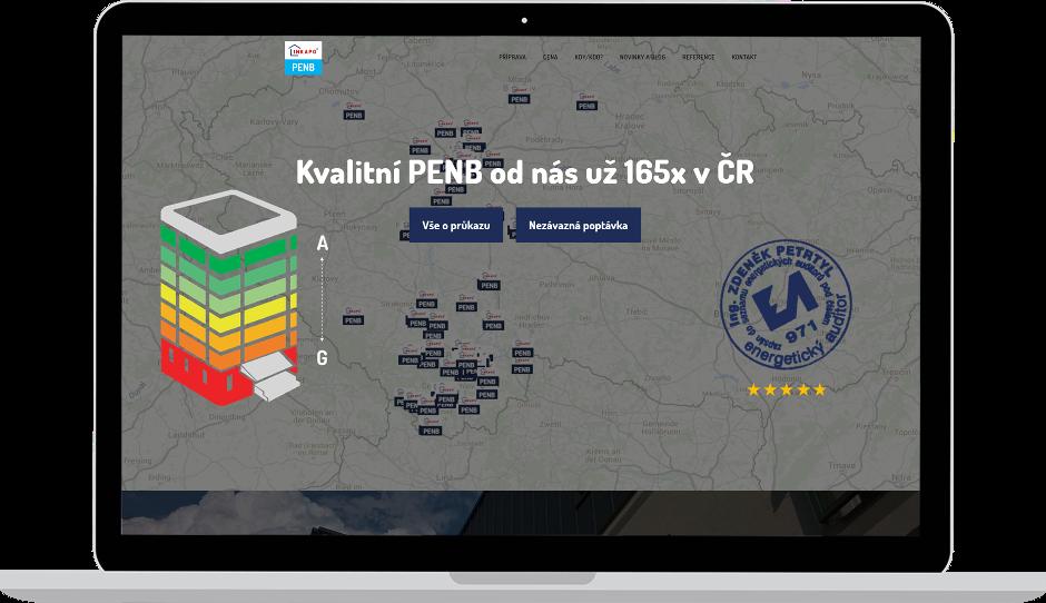 Tvorba internetové prezentace - microsite - pro klienta z Českých Budějovic