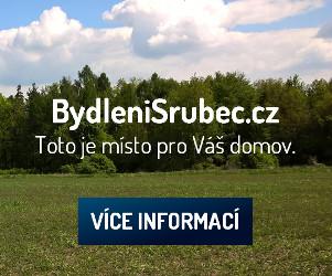 Příklad bannerové reklamy, která propaguje stavební pozemky.
