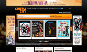 Homepage Cinema City