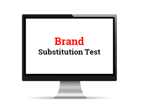 Brand Substitution Test