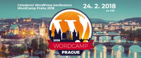 24. února 2018 proběhne v Praze WordCamp - každoroční konference o tvorbě webových stránek a online marketingu