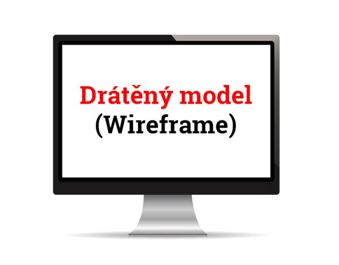 Drátěný model webu (wireframe) výrazně pomáhá při vývoji webu či jeho redesignu