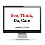 Model/framework See, Think, Do, Care formuloval Avinask Kaushik. Jeho účelem je pomoci marketérům porozumět komu, kdy, co a jak mají sdělit.