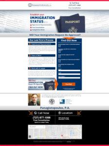 Takhle vypadal původní web, na který běžely PPC kampaně ve vyhledávání