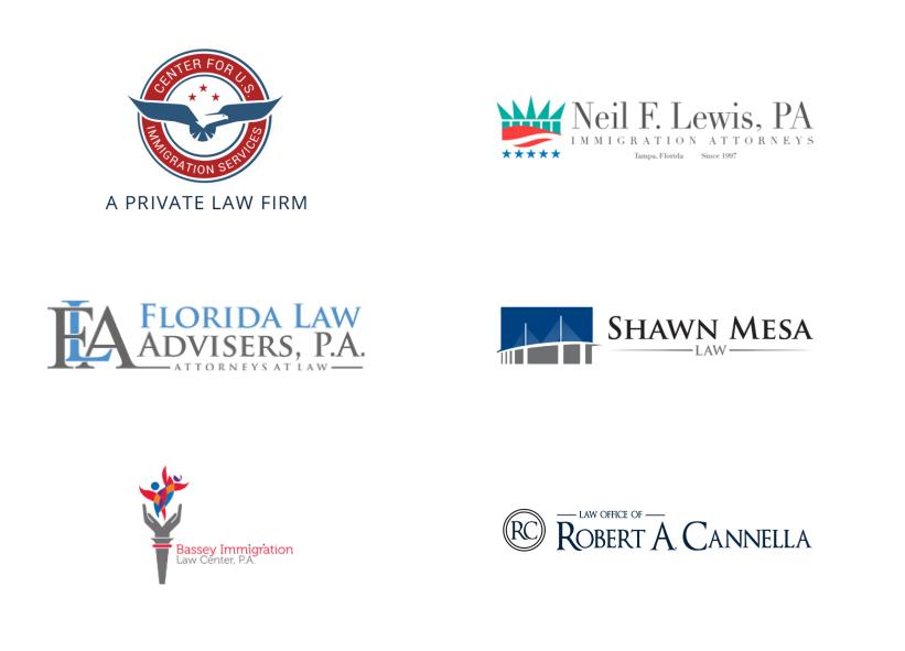 Ukázky log konkurenčních advokátních kanceláří