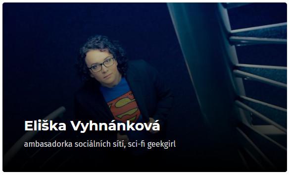 Eliška Vyhnánková - konference Osobní růst 2019