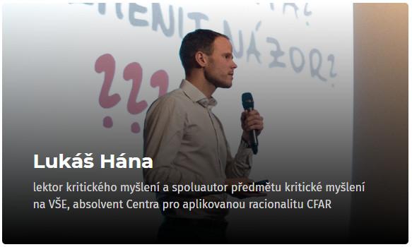 Lukáš Hána - konference Osobní růst 2019