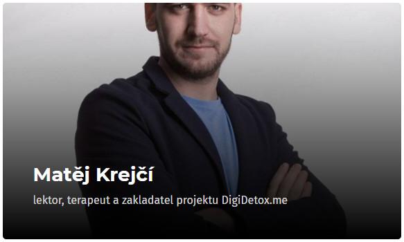 Matěj Krejčí - konference Osobní růst 2019