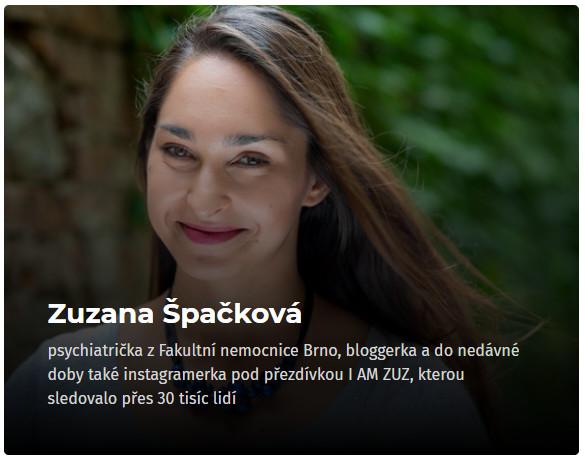 Zuzana Špačková - konference Osobní růst 2019