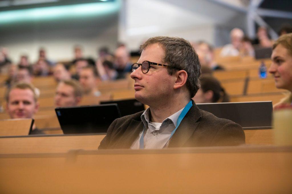 Na loňském ročníku si mě všiml i konferenční fotograf :)