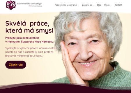 Nový vzhled webu Hoffnung.cz